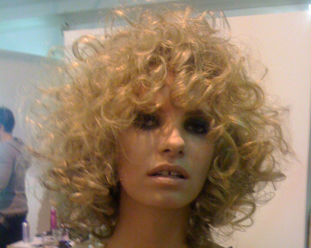 Bob frisuren curly sue