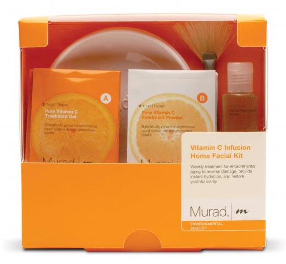 Murad vitamin c infusion home facial kit