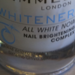 Posh Nails: Rimmel Whitener