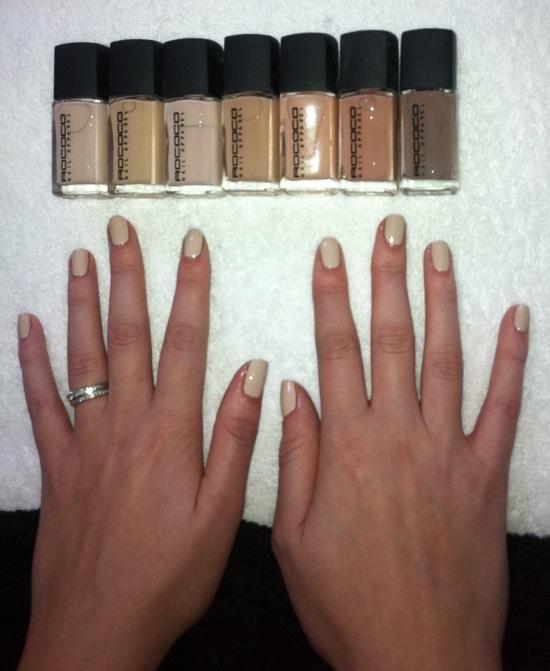 rococo nude nail polish
