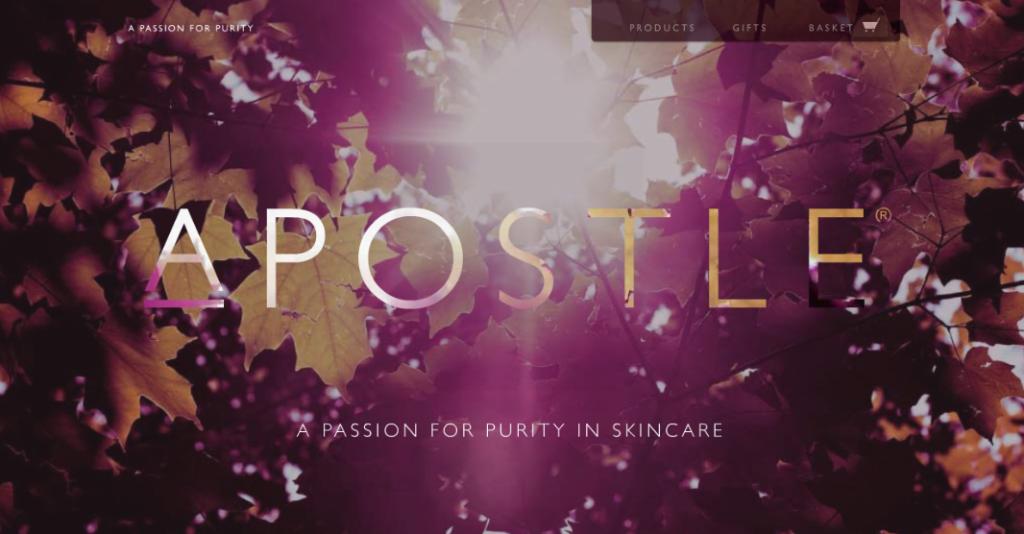 apostle beauty skincare online