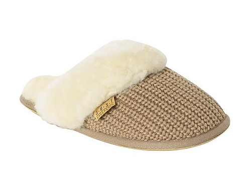 just sheepskin kensington slippers have aged me