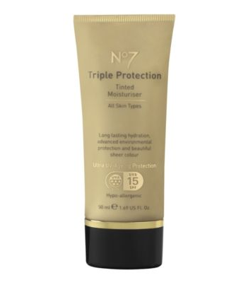 Boots No7 Triple Protection Tinted Moisturiser