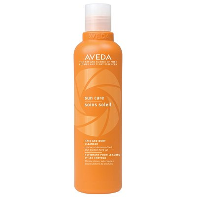 aveda sun hair and body