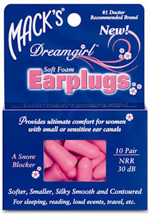 Mack's 'Dreamgirl' Earplugs