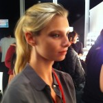 Backstage Beauty at Jaeger LFW 2011