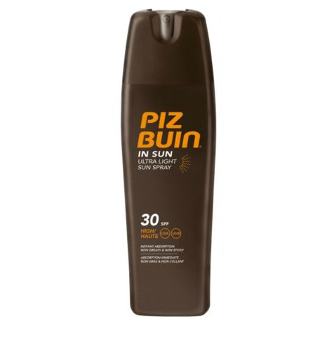 Piz Buin In Sun Ultra Light Spray Review