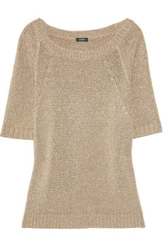 J.Crew Metallic Knitted Sweater
