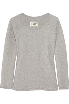 Aubin &amp; Wills Quilted Cotton-Jersey Sweater