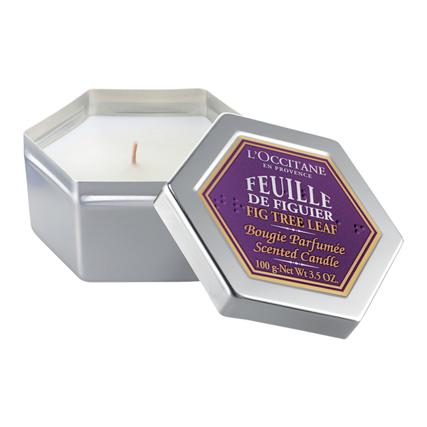 l&#039;Occitane Fig Tree Leaf Candle