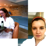 Mother-and-Daughter Spa Testing