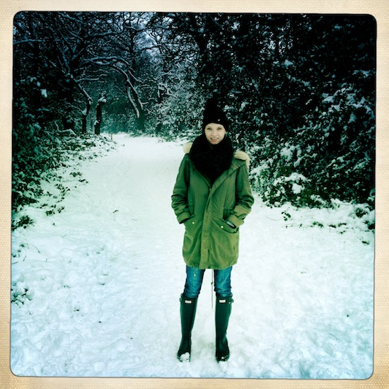 Sunday Walk in the Snow