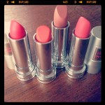 "Lancome ""Rouge In Love"" Lipsticks"