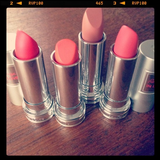 "Lancome ""In Love"" Lipsticks"