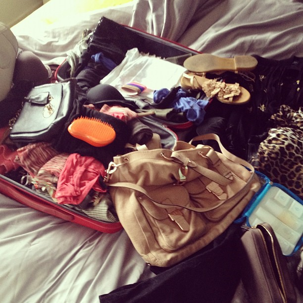 ruth crilly packing for la