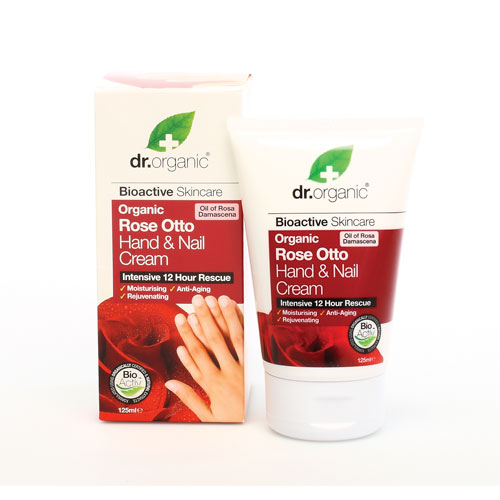 dr organic rose otto hand cream