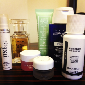 Model Favourite Beauty Products