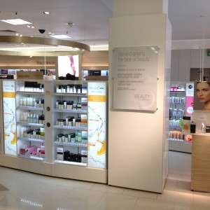 marks and spencer beauty department