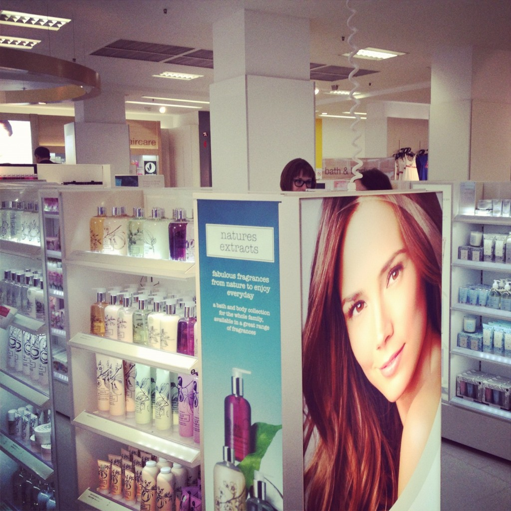 New Marks and Spencer Beauty Department