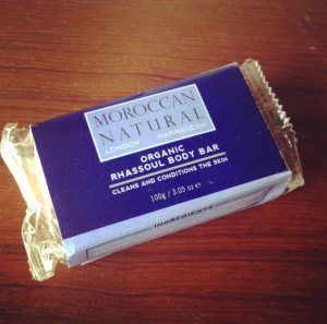 Moroccan Natural Organic Rhassoul Body Bar