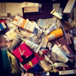 Beauty Sample Hoarding