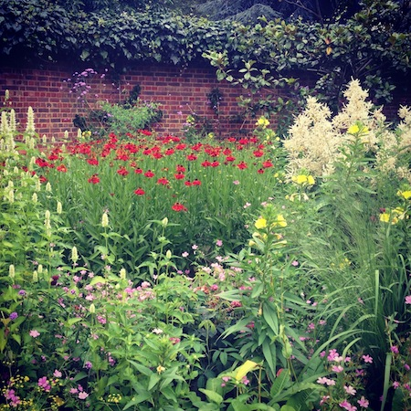 Beautiful english flower garden - The Old English Garden Battersea Park A Model Recommends