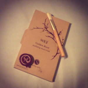 WEI Golden Root Purifying Face Mask Review