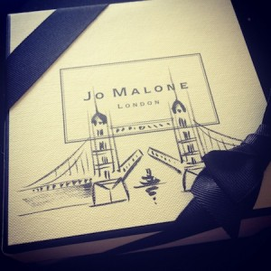 Jo Malone landmark boxes