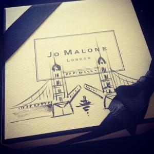 Jo Malone landmark boxes