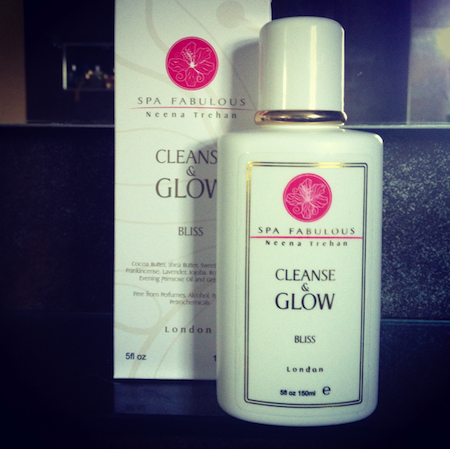 spa fabulous cleanse glow