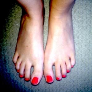 Ruth Crilly Feet