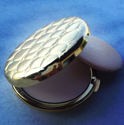 Posh Compacts: Estée Lauder Golden Alligator