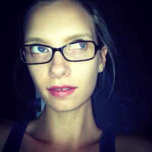 ruth crilly face makeup blog model