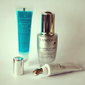 genefique eye, clinique even better, ole henriksen eye lift