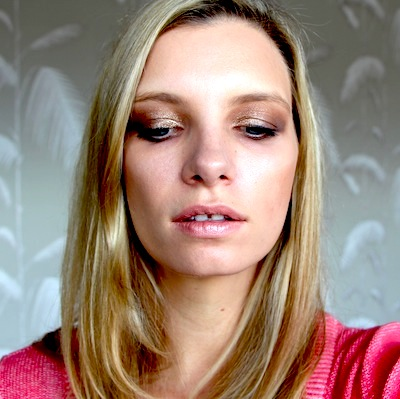 Following the Clarins Smoky Eye Instructions!