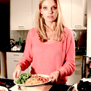 ruth crilly health model diet video