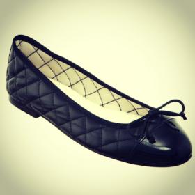 fashion blog post ballet pumps