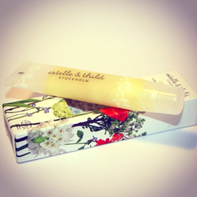 Estelle &amp; Thild Raspberry Lip Balm