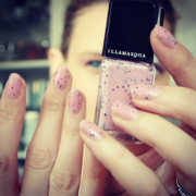 Illamasqua's Speckled Nails!