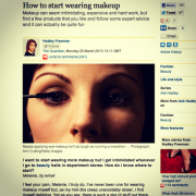 Press: A Model Recommends in The Guardian