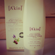 A'Kin Pure Creamy Cleanser & Toner In One