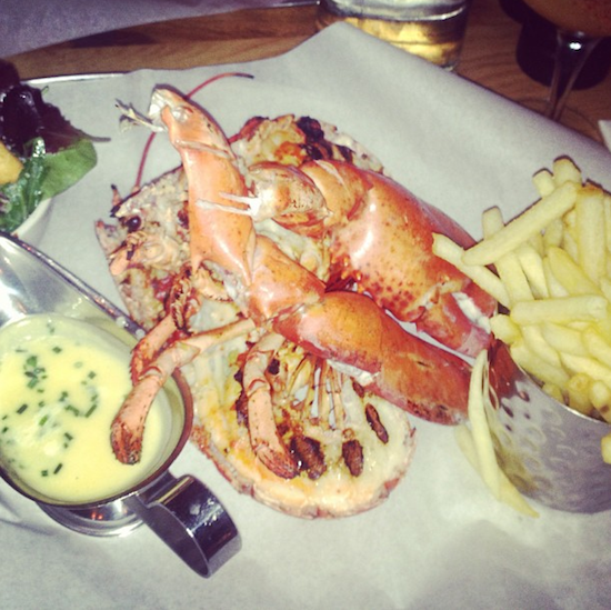 Burger and Lobster Restaurant Review