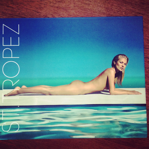 st tropez campaign kate moss
