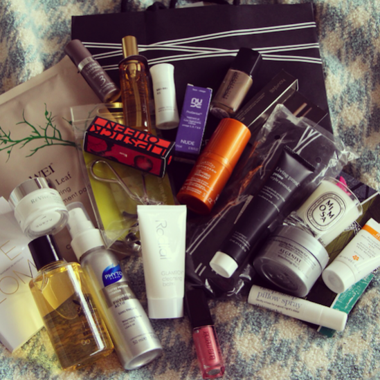 space nk goodie bag