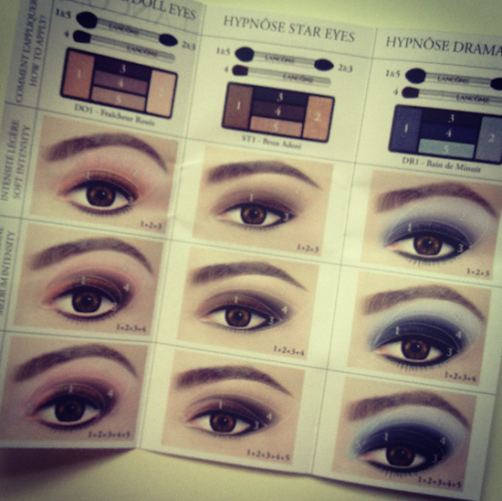 lancome shadow eye palette