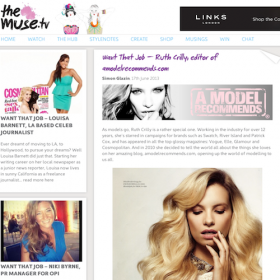 a model recommends blog