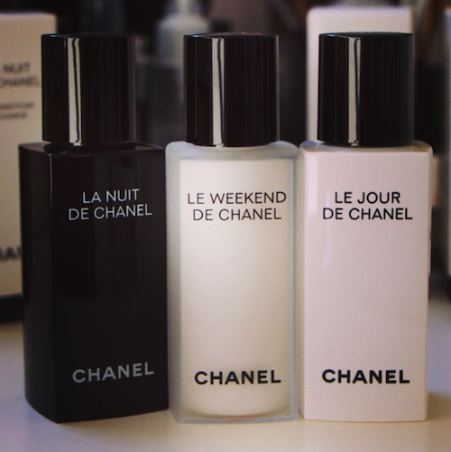 chanel skincare le weekend le jour