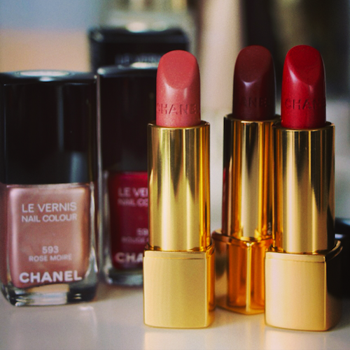 Chanel Rouge Allure Moiré Collection
