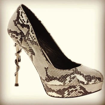 hosue of harlow snake heel shoes