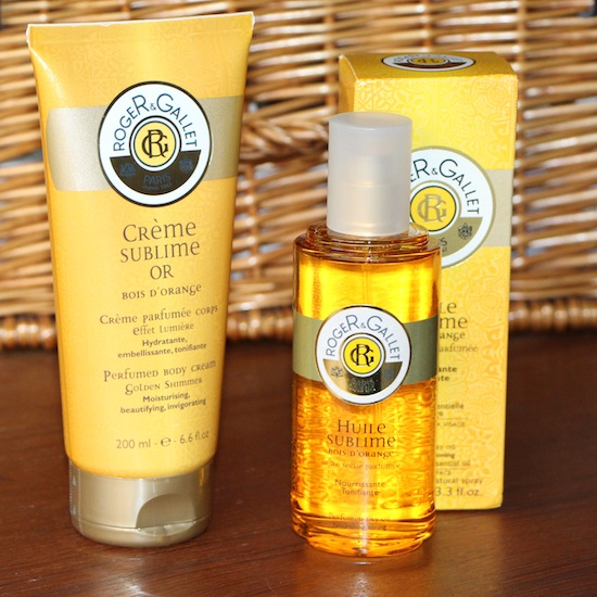 orange oil and cream bodycare